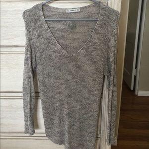Open stitch Zara sweater